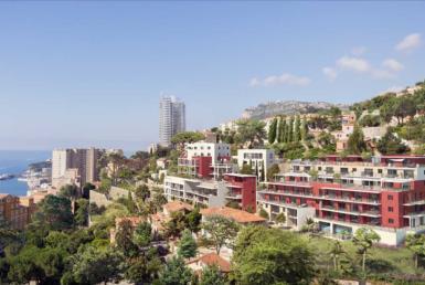 """Nue-propriété à Beausoleil, résidence """"Monte Coast View"""""""